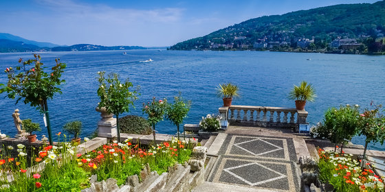 Hotel With Private Beach Lago Maggiore Italy