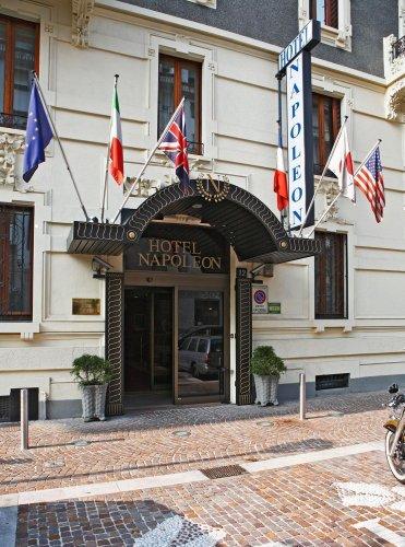 Hotel napoleon milano prenota subito for Hotel napoleon milano