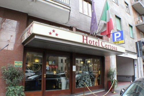 Hotel Certosa - Milão - Reserve agora!